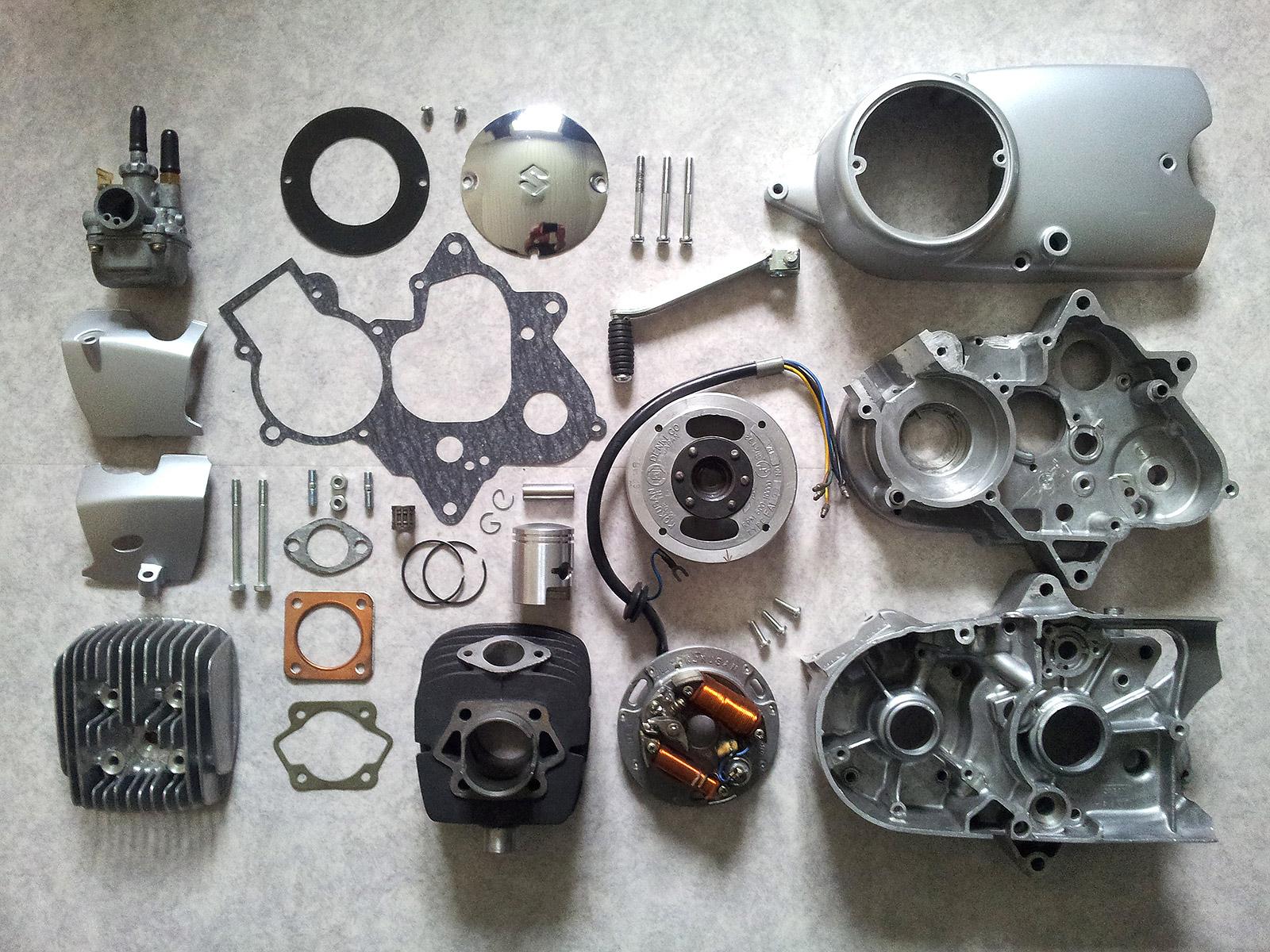 Suzuki M12 Motorn Med Oljesm U00f6rjning